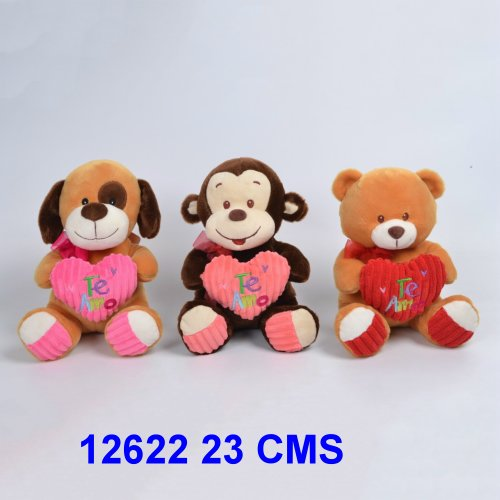 ANIMALITOS CON CORAZON 23 CMS