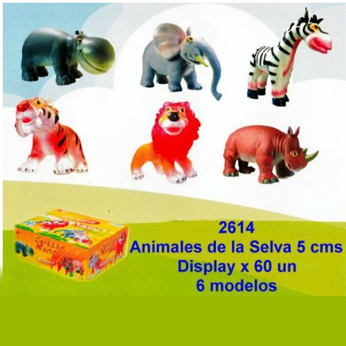 ANIMALES DE LA SELVA COMICS SOFT MINI