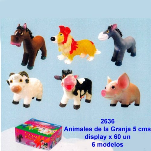 ANIMALES DE GRANJA COMICS SOFT MINI