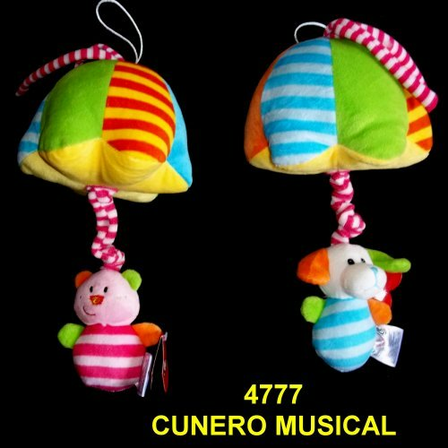 CUNERO MUSICAL ANIMALITOS CON SOMBRILLA