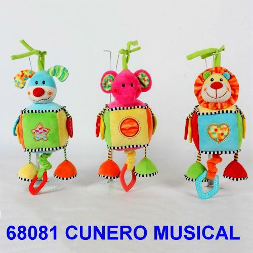 CUNERO MUSICAL ANIMALITOS CON CUBO