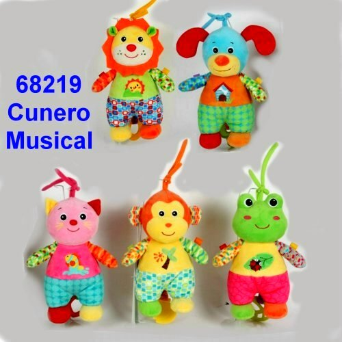 CUNERO MUSICAL ANIMALITOS CON PANTALON