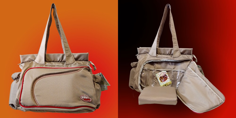 BOLSO MATERNAL TRUCKER